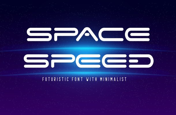 Space Speed Font