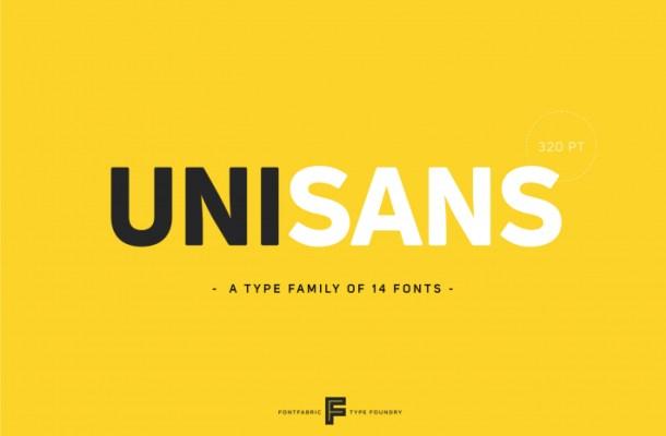 Uni Sans Font