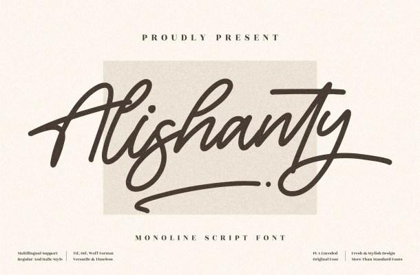 Alishanty Font