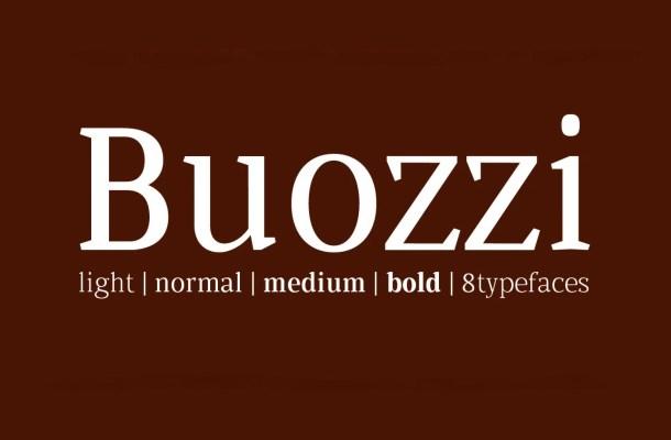 Buozzi Font Family