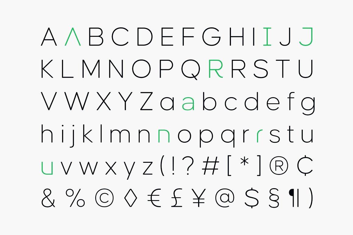 Causten Round Sans Serif Font -3