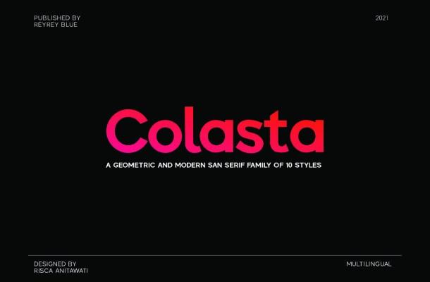 Colasta Font