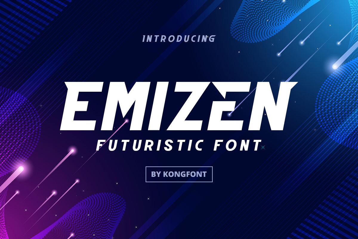 Emizen Display Font -1