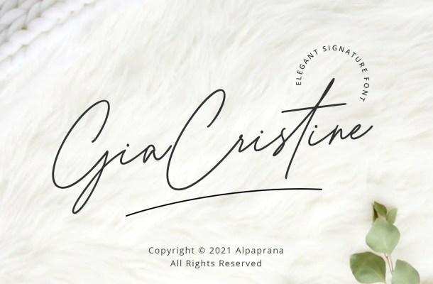 Gia Cristine Font