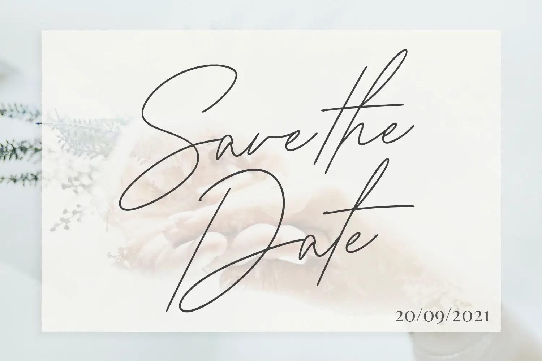Gia Cristine Handwritten Font -2