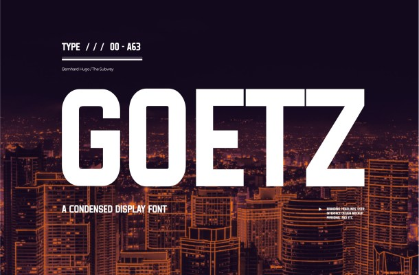 Goetz Font