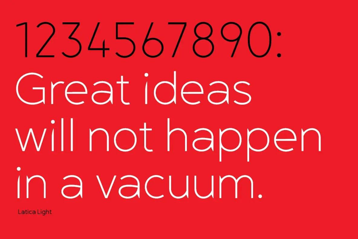 Latica Sans Serif Font Family -3