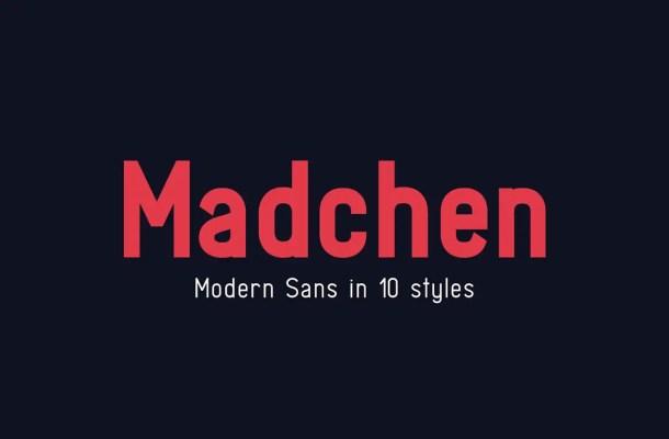 Madchen Font