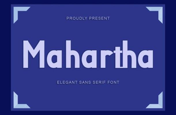 Mahartha Font