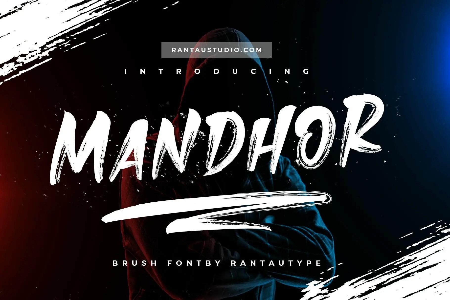 Mandhor Brush Script Font -1