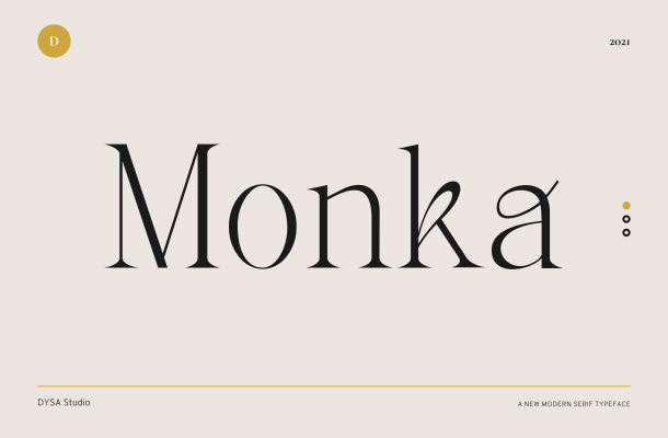 Monka Font
