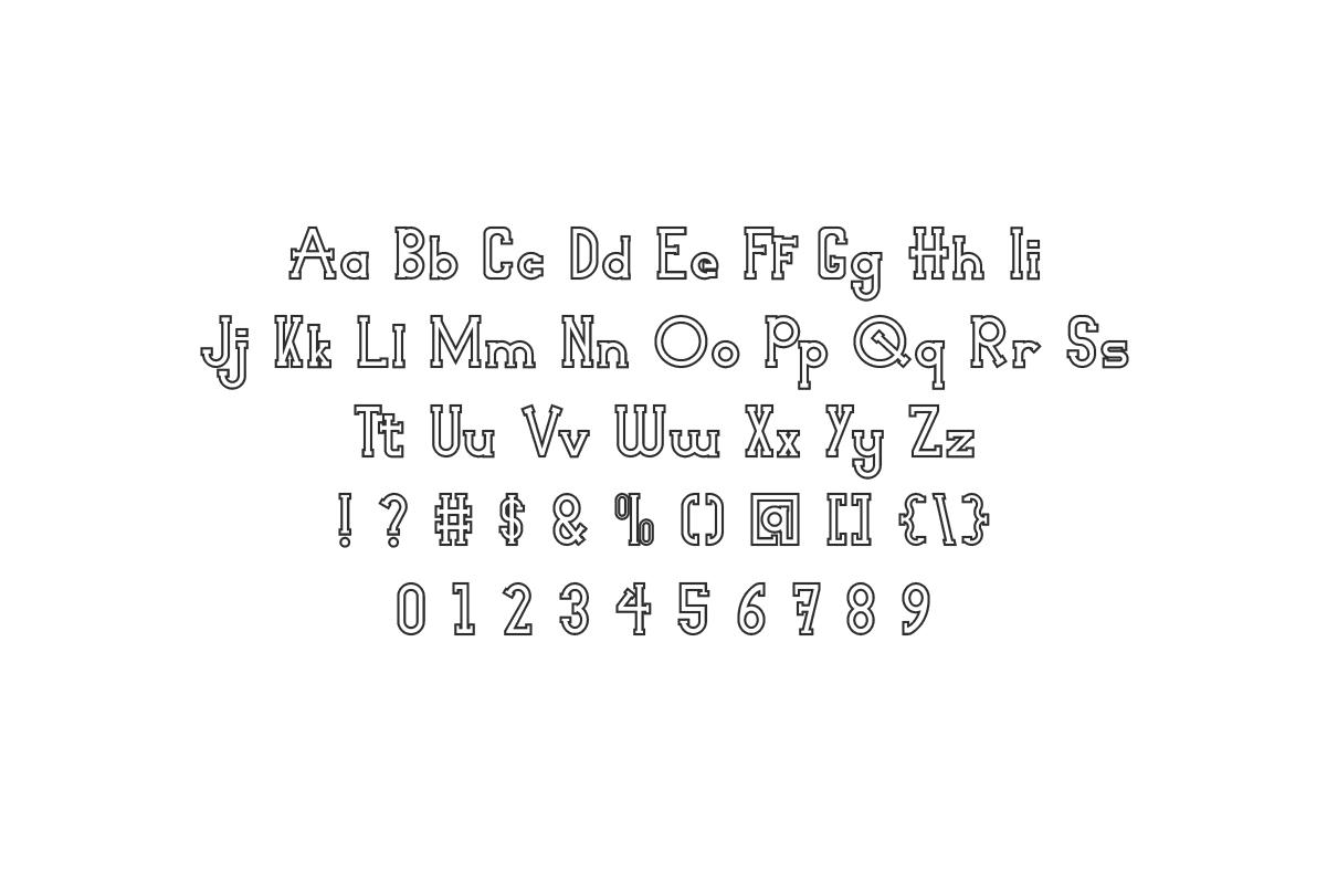 Not WantedSlab Serif Font -2