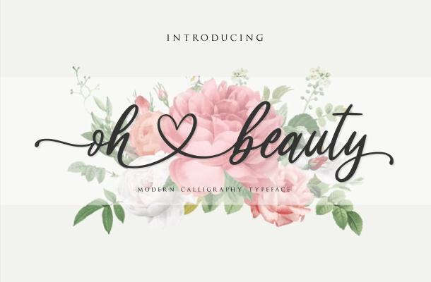Oh Beauty Font
