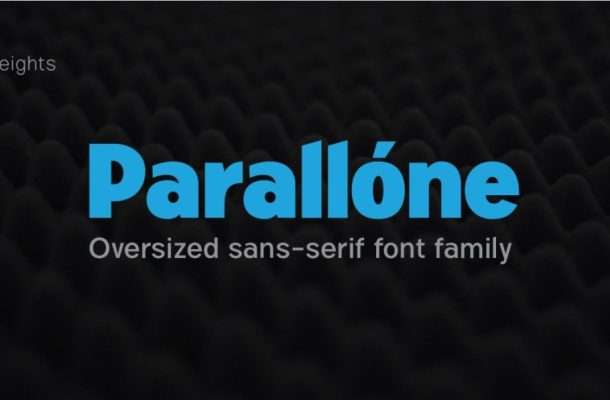 Parallone Font Family