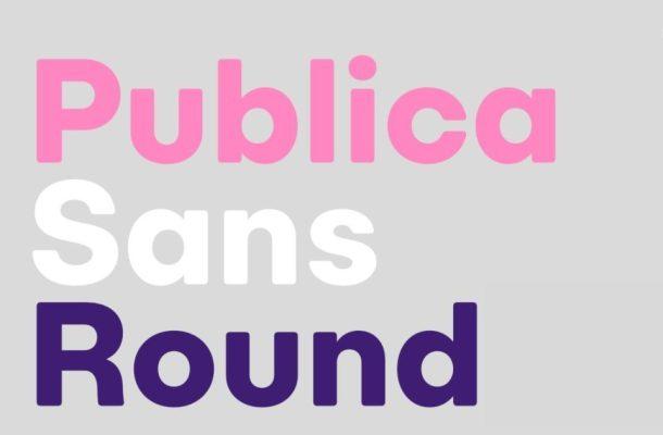 Publica Sans Round Font Family