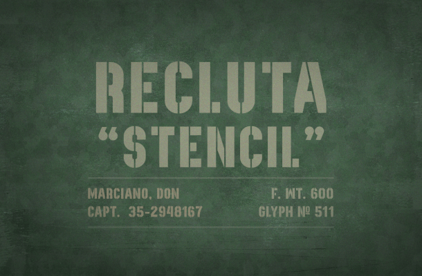 Recluta Font