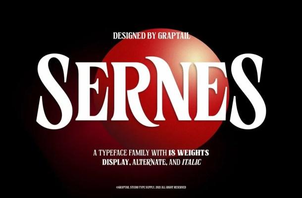 Sernes Font Family