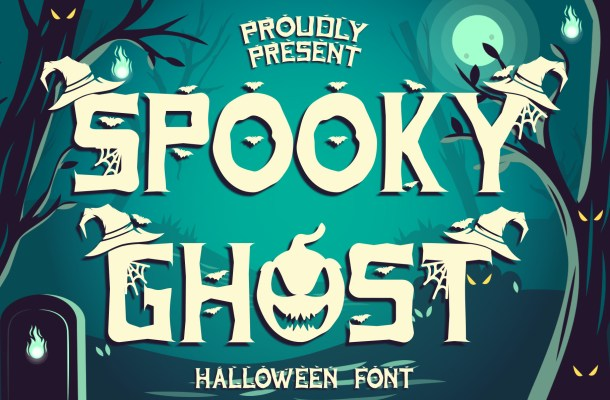 Spooky Ghost Font