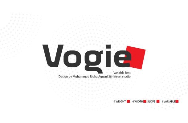 Vogie Font