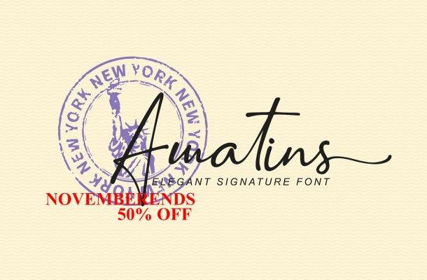 Amatins Font
