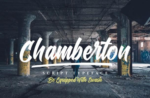 Chamberton Font