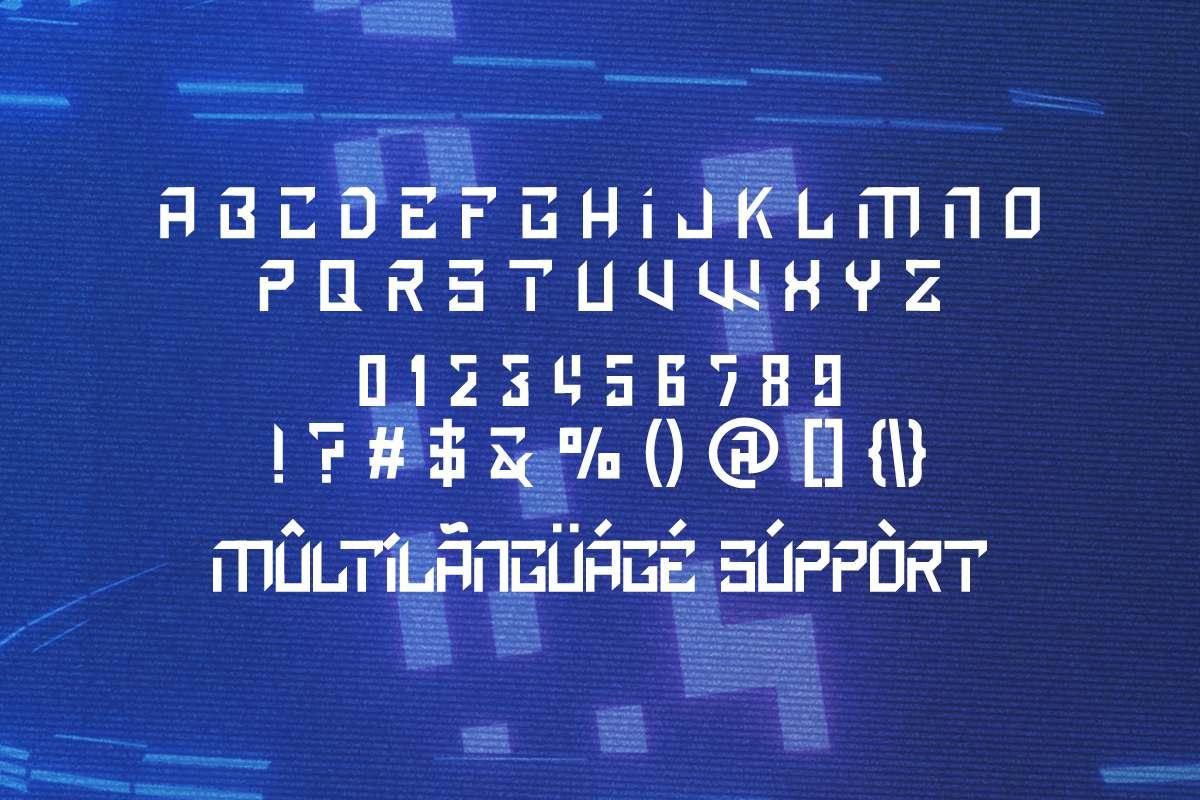 Discrown Display Font -2