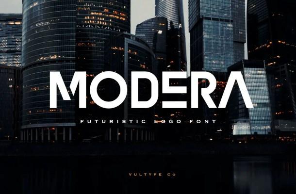 Modera Font