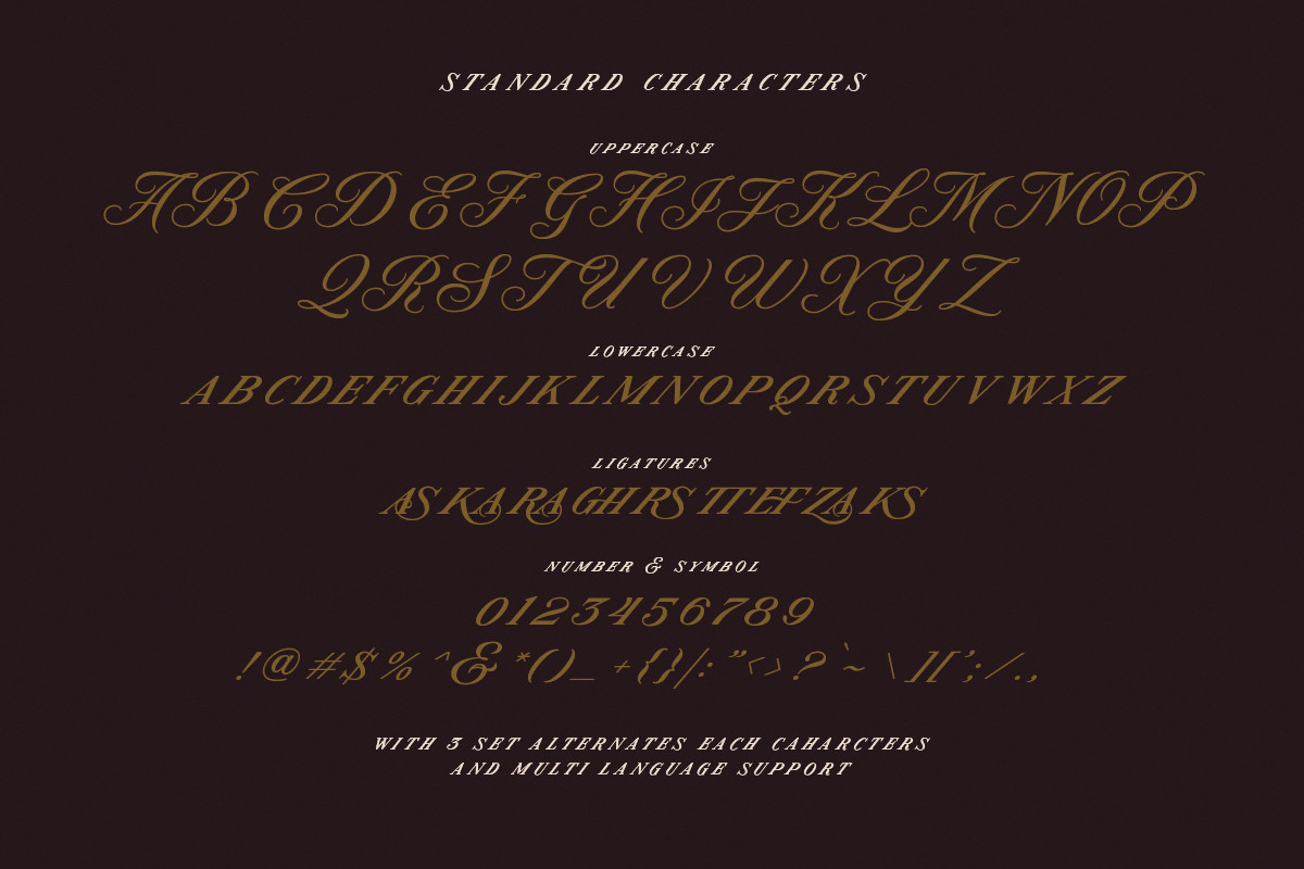 Modern Prestige Romantic Font -3