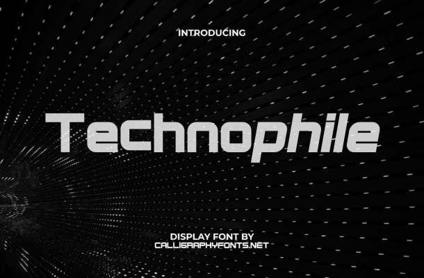 Technophile Font