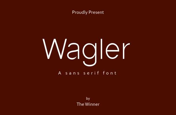 Wagler Font