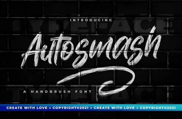 Autosmash Font