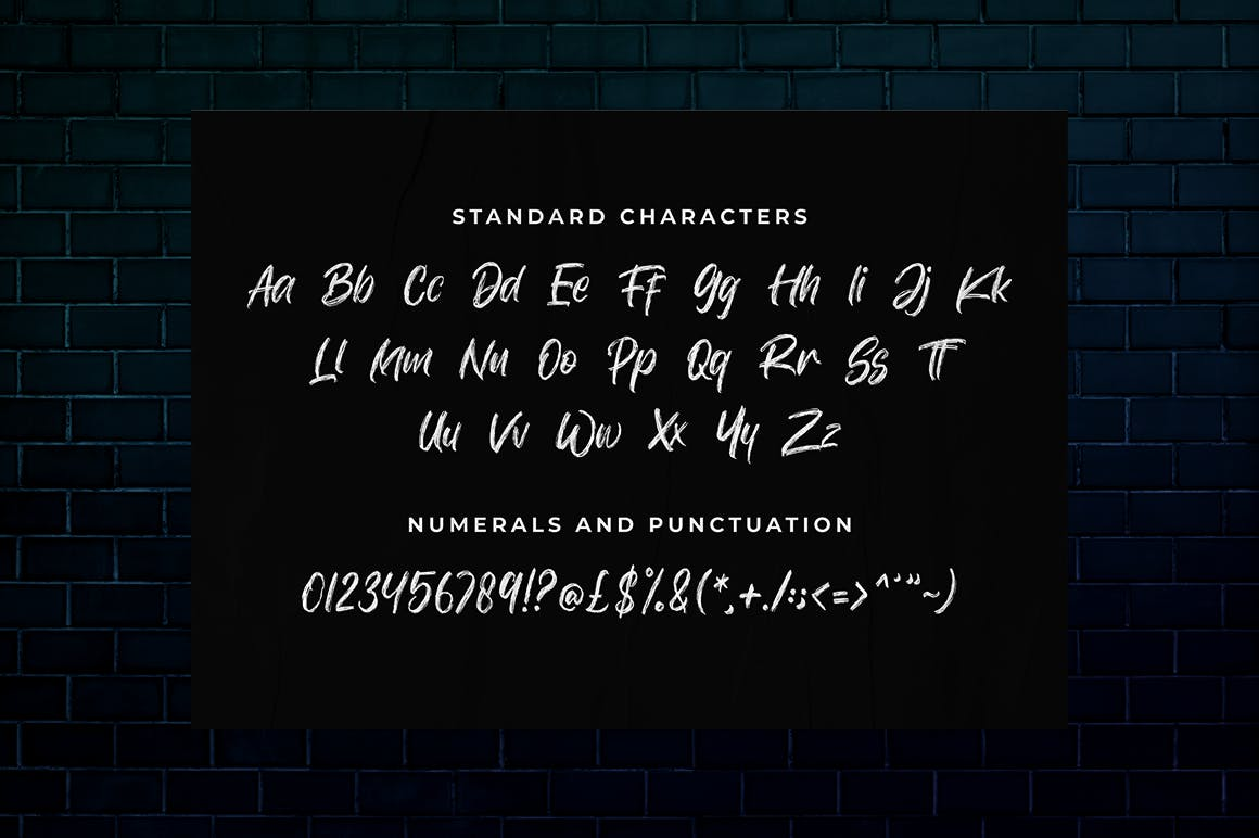 Autosmash Brush Script Font -3