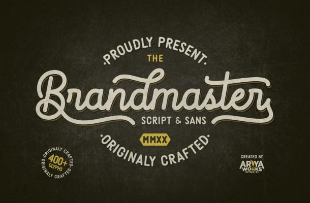 Brandmaster Font