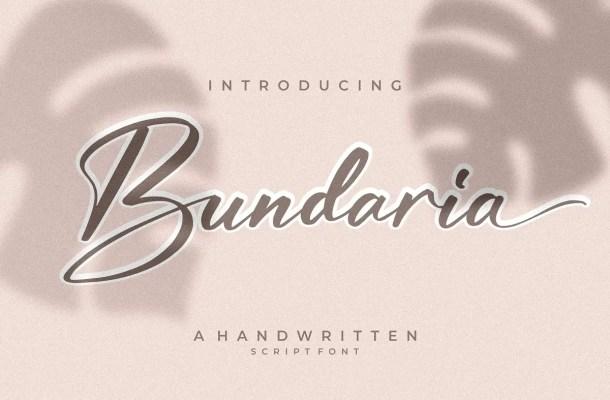 Bundaria Font