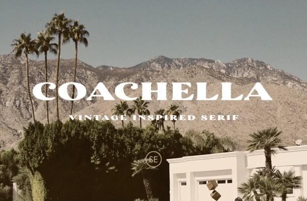 Coachella Font
