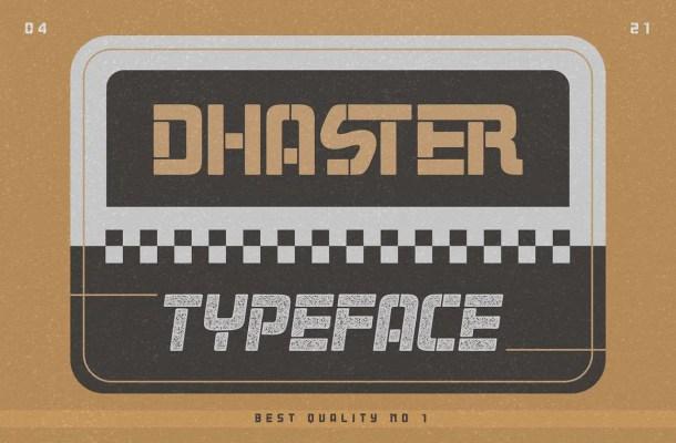Dhaster Font