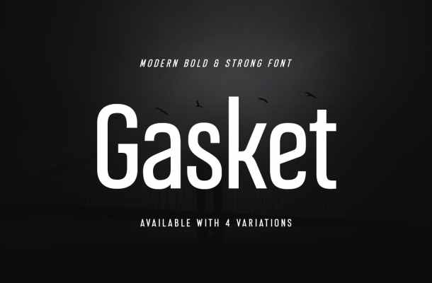 Gasket Font
