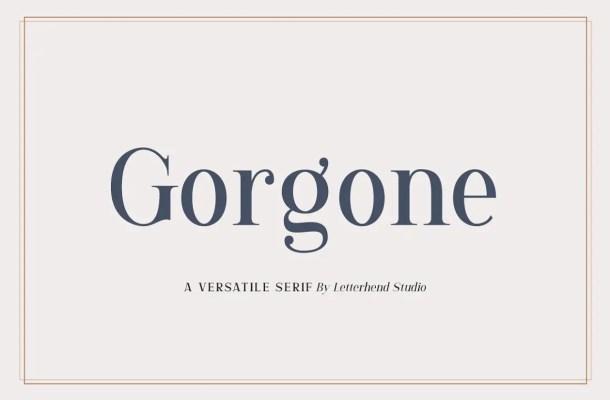Gorgone Font