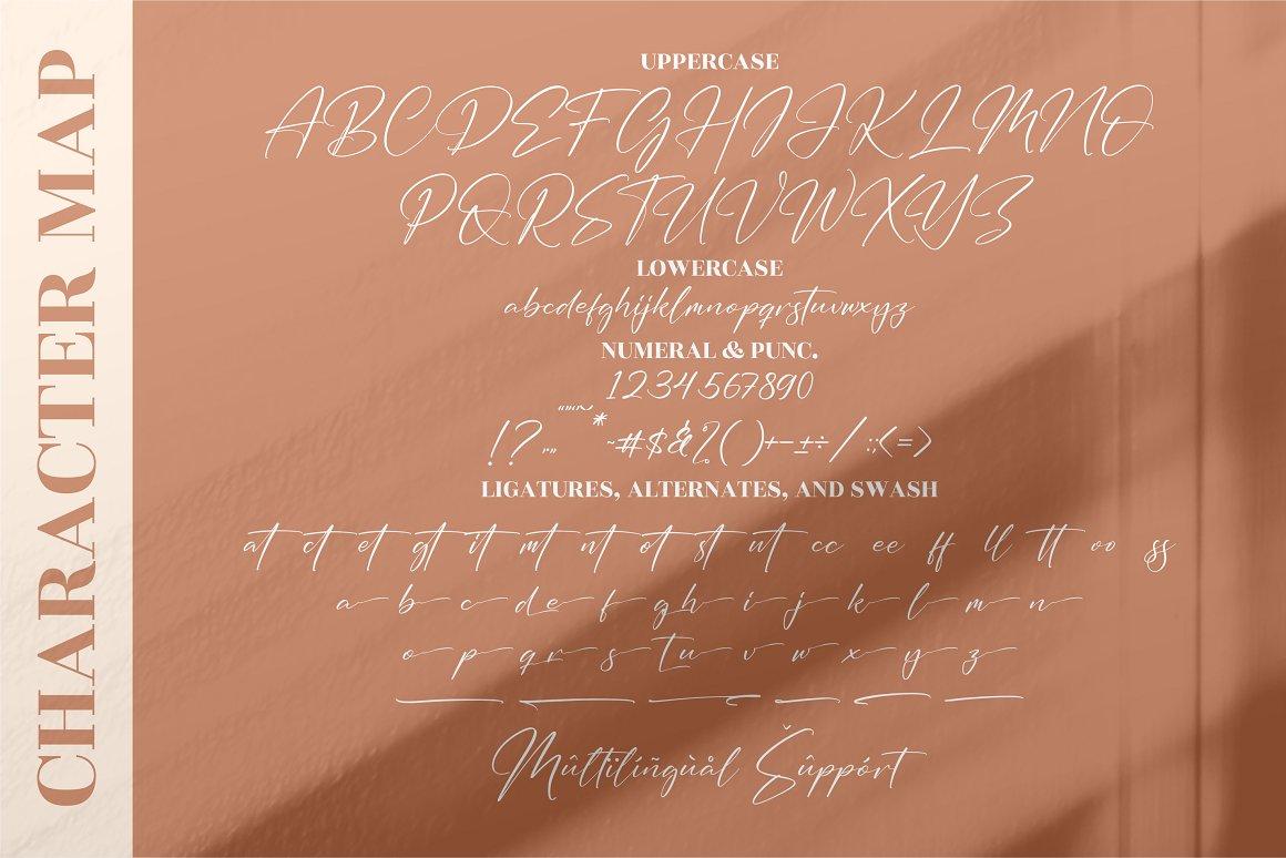 Handmagic SignatureScript Font -3