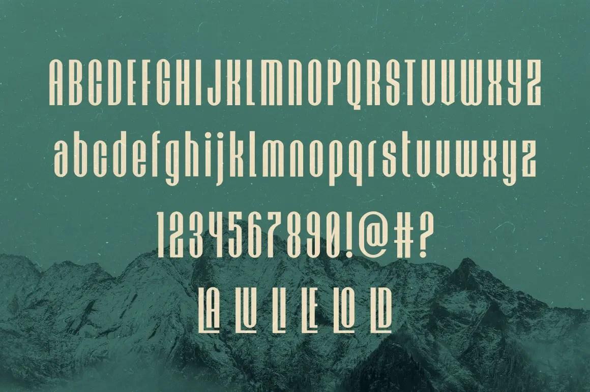 Hochland Modern Sans Serif Font -3