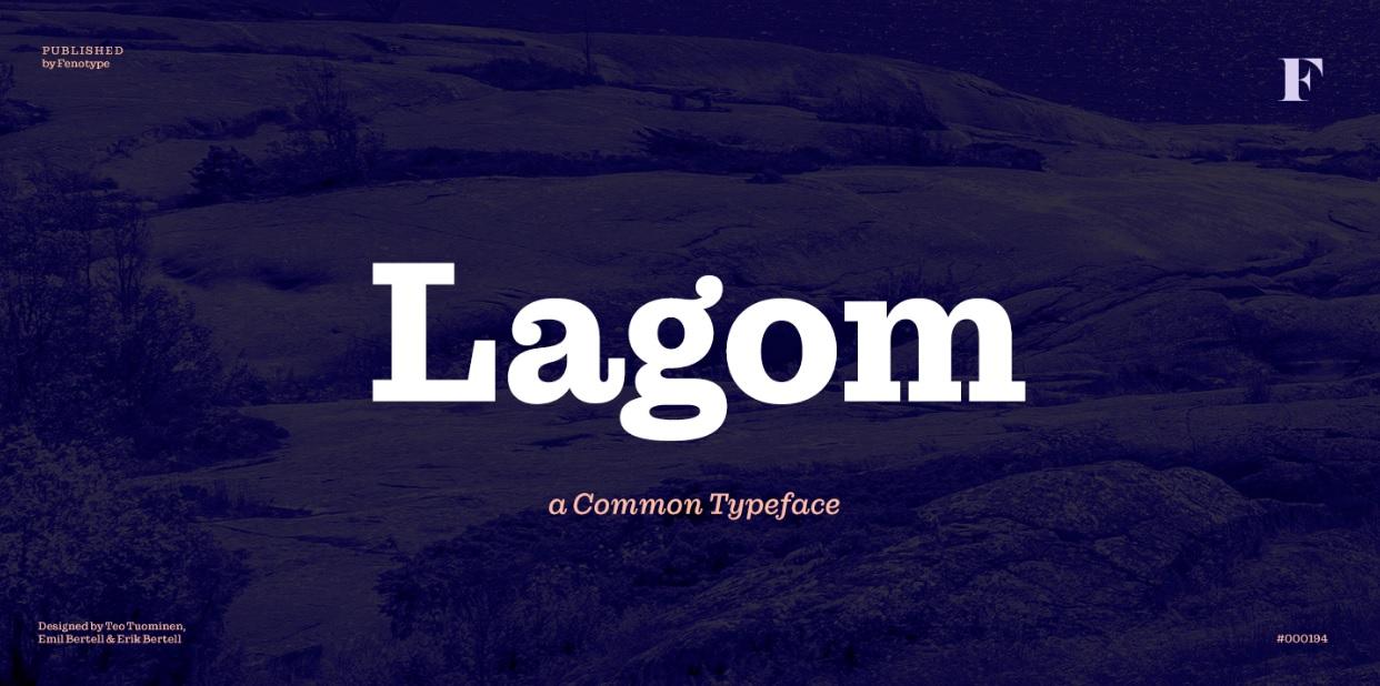 Lagom Slab Serif Font -1