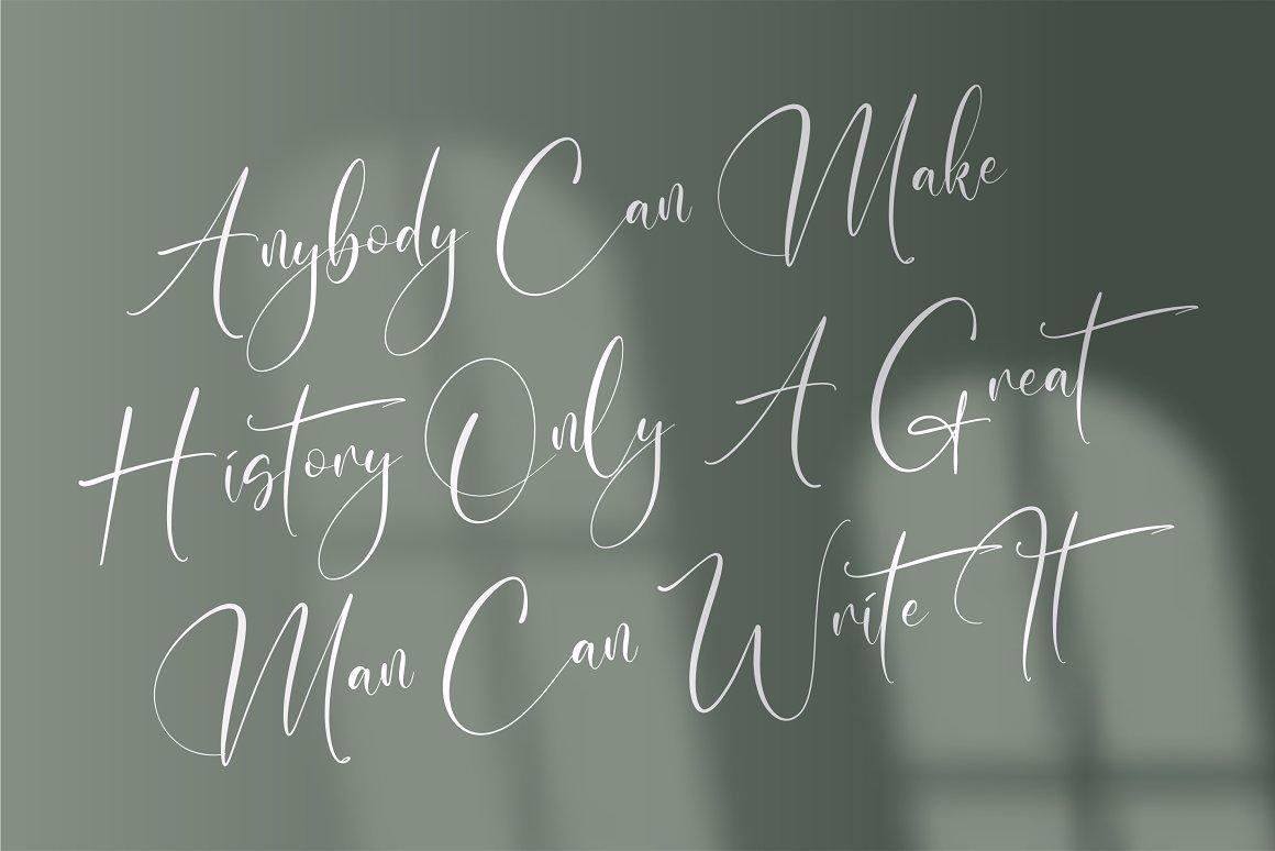 Malistera Signature Script Font -2