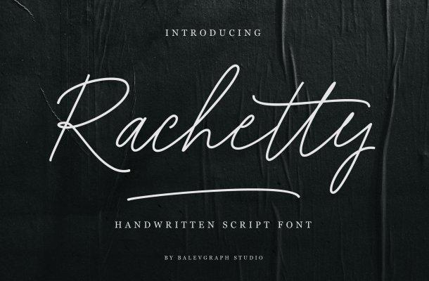 Rachetty Font