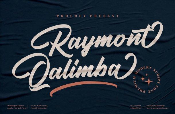 Raymont Qalimba Font