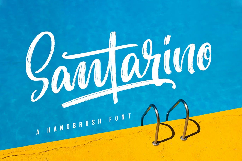 Santarino Brush ScriptFont -1
