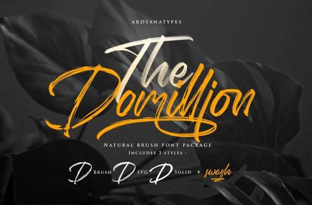 Domillion Font