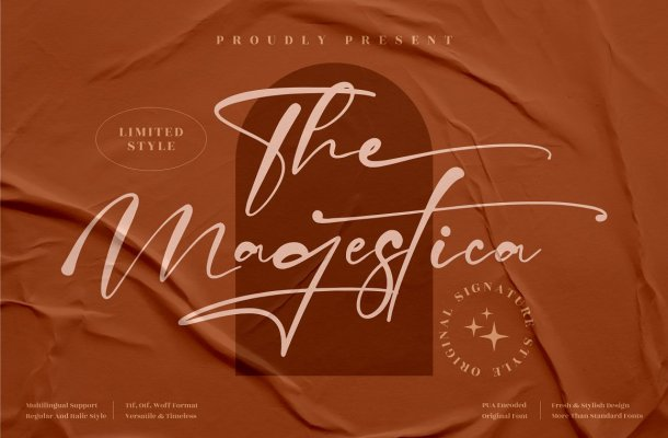 The Magestica Font