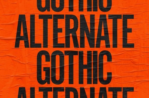 Alternate Gothic Font Family