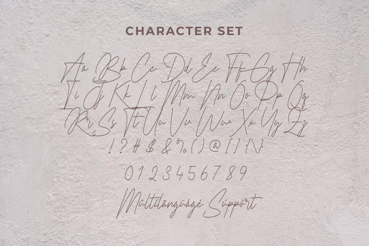 Braselton Handwritten Font -3