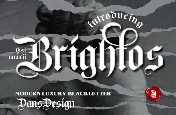 Brightos Font